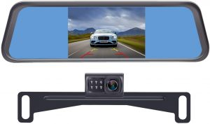 best rear view mirror camera