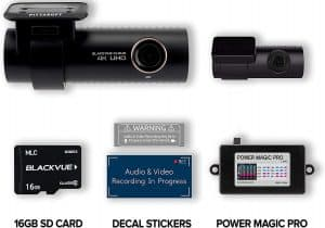 dash cam with wireless rear camera