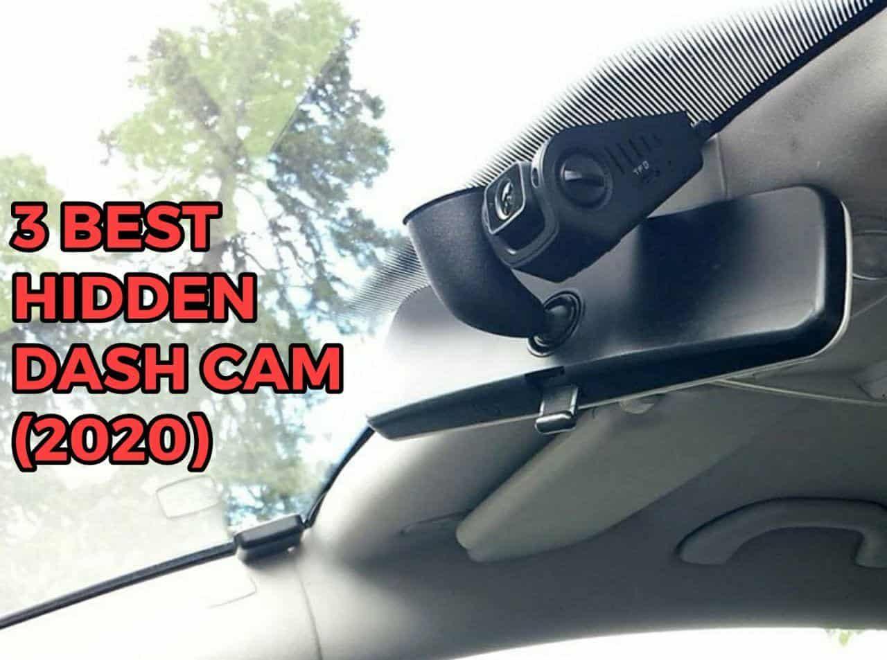 hidden dash cam
