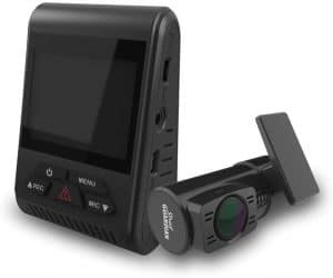 dash cam with capacitor