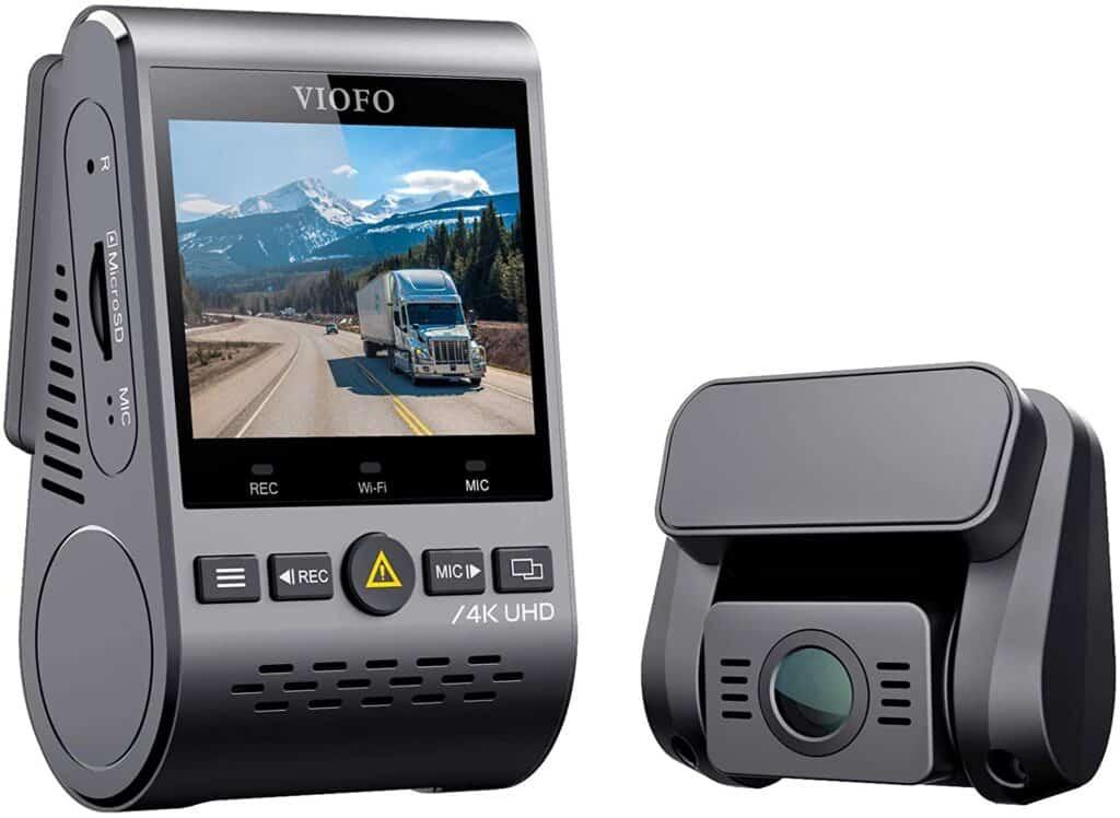 Dash Cam With Capacitors