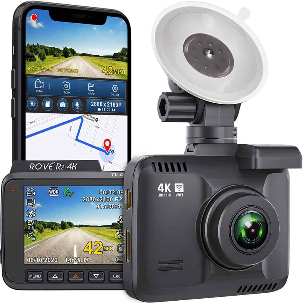 Best Small Dash Cam with WIFI